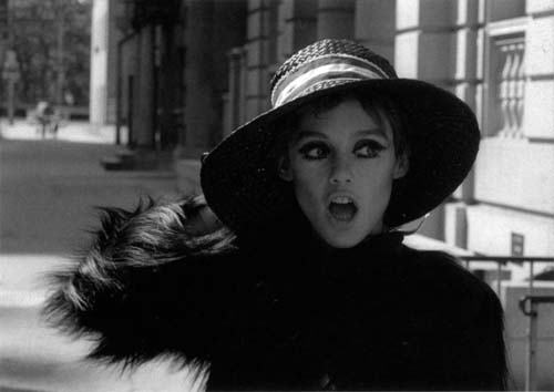 Edie Sedgwick in a scene from Ciao! Manhattan. Photo by John Palmer.